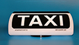 Spampinato Taxi roof sign - 300 Speed model